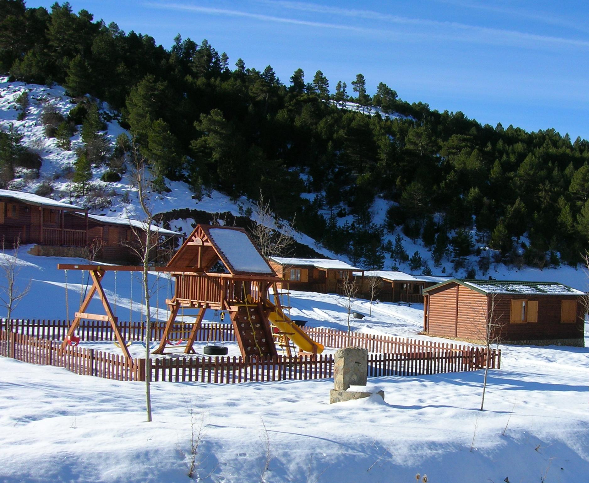 Cabaas de madera en la nieve excellent descargar la - Cabanas de madera en la nieve ...